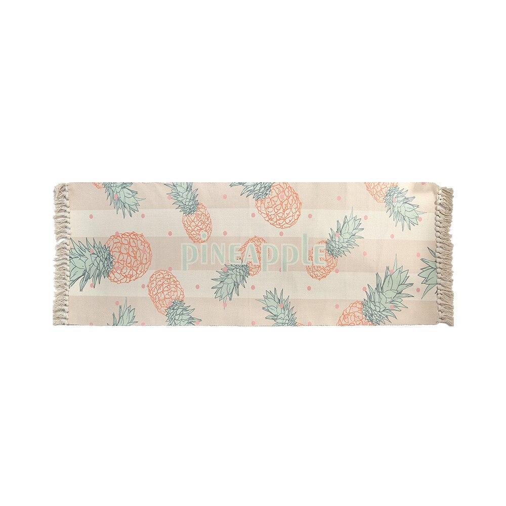 Tapis décoratif coton tapis contracté tapis coton tapis décoration salle à manger