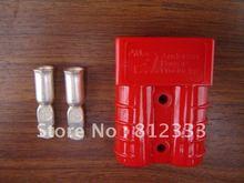 정품 ANDERSON 6331G1 빨간색 SB 50A SB 50 SB50A SB50 600V 전원 커넥터 배터리 플러그 (#6 AWG 접점 포함)