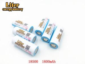 Image 4 - 2pcs/lot 18500 Batteries 18490 Real 1600mAh Li ion Lithium 3.7V Rechargeable FlashLight Torch Battery Power Bank LED Energy