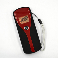 Promotion Professional Digital Breath Alcohol Tester Easy Use Breathalyzer Alcohol Meter Analyzer Detector With LCD Display