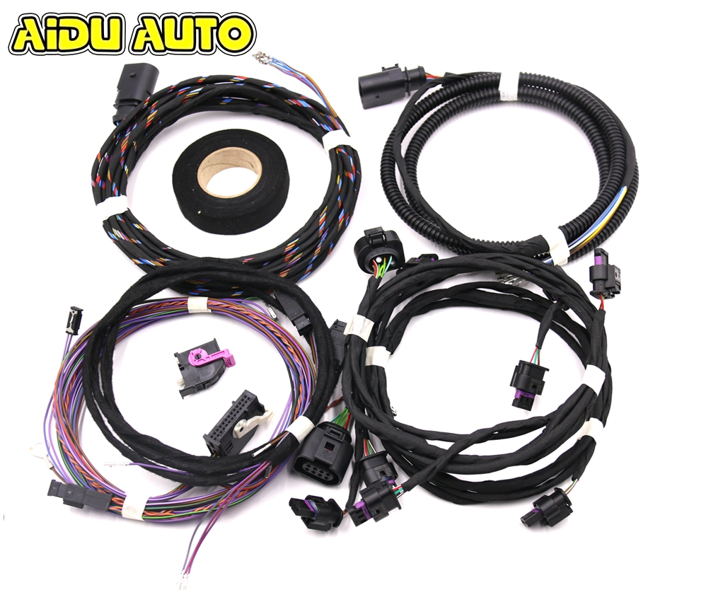 OPS Parking Front and Rear 8K PDC OPS Install Harness cable wire For Skoda NEW MQB Octavia 2-cashback