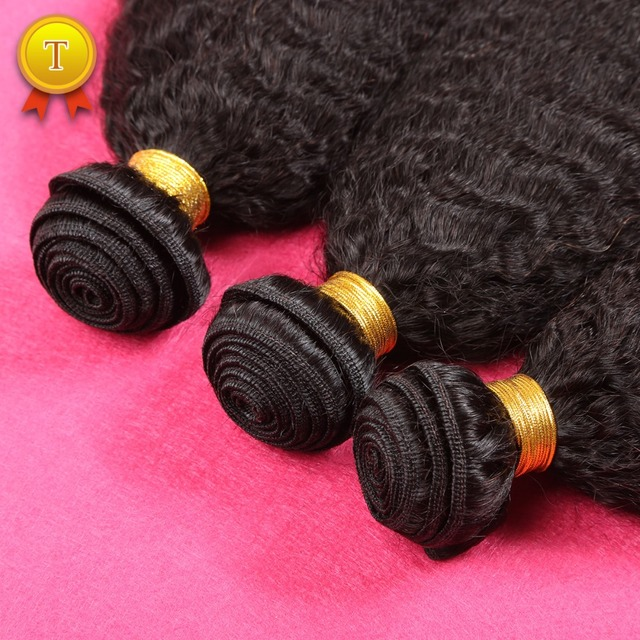 Mongol Kinky Em Linha Reta Cabelo Weave Bundles 3 Pcs 7A Não Transformados Mongolian Virgem Cabelo Crespo Em Linha Reta Virgem Extensão Do Cabelo Humano
