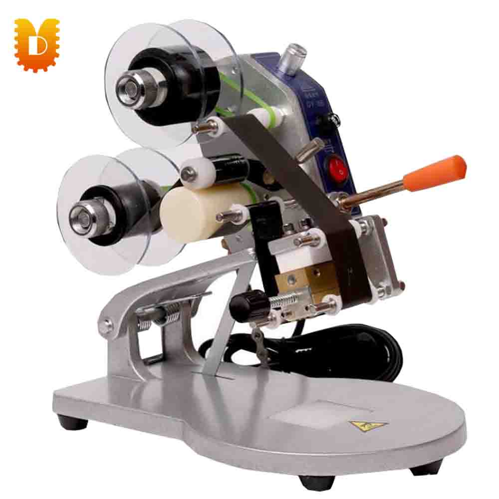 Three lines coding  machine/ printing machine/mini  marking machine new my 380f ink wheel coding machine ink wheel marking machine automatically continuous marking machine 180w 220v 110v 50hz 60hz