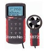 UNI-T UT361 Anemometer Wind Speed gauge meter Air Velocity Flow Temperature Measuring anemometro dijital anemometre  цены