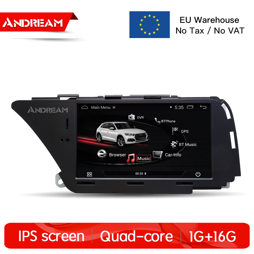 """7"""" Android 4.4 Car Multimedia For AUDI A4 S4 A5 Q5 (2008"""
