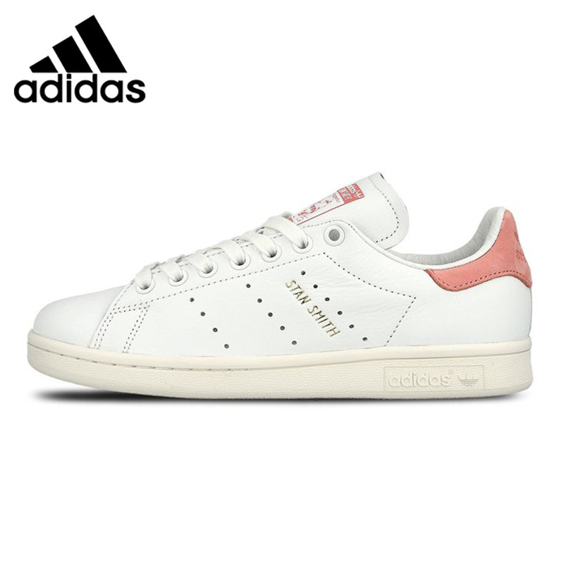 ADIDAS STAN SMITH Shamrock Men's and Women's Walking Shoes , Pink Grey, Balance Lightweight Breathable S75075 S80024 adidas stan smith shamrock men s and women s walking shoes pink grey balance lightweight breathable s75075 s80024
