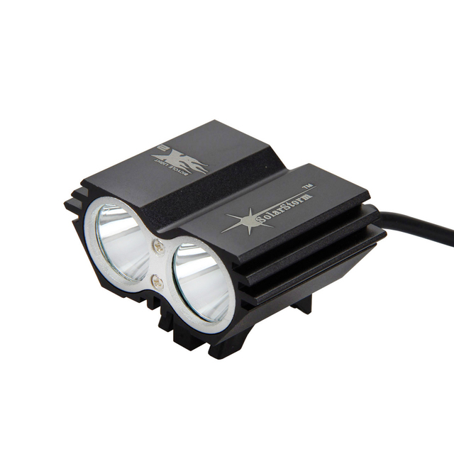 SolarStorm 5000 Lm 2x XM-L U2 LED Front Cycling Bike Light Headlight Lamp Bicycle Accessories No batteries