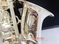 Alto 2017 New French Selmer SAS R54 Silvering Saxophone E Flat Alto Saxophone Top Music Original