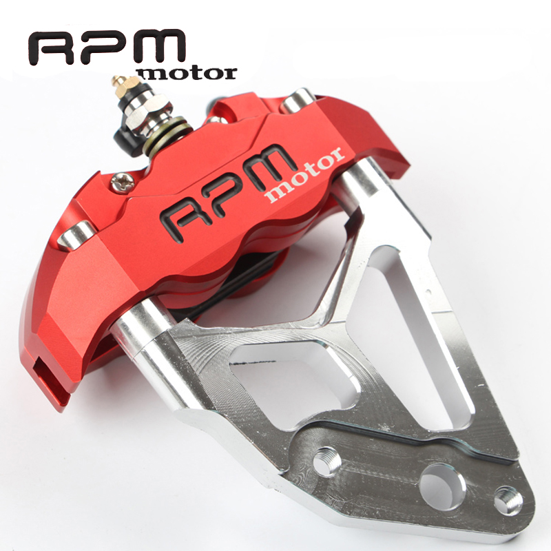 RPM motor Electric Motorcycle Scooter Brake Caliper+Brake Pump Adapter Bracket For 200 / 220mm Brake Disc Pit Bike Dirt Bike keoghs motorbike rear brake caliper bracket adapter for 220 260mm brake disc for yamaha scooter dirt bike modify