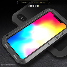 hot deal buy love mei case for iphone xs max cover metal armor phone case for iphone xs max aluminum shockproof outdoor cover iphone xs max