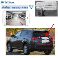 YESSUN For Toyota RAV4 XA40 2013~2015 back up Reverse Camera Auto Wireless Rear View Camera Rear View Camera Night Vision