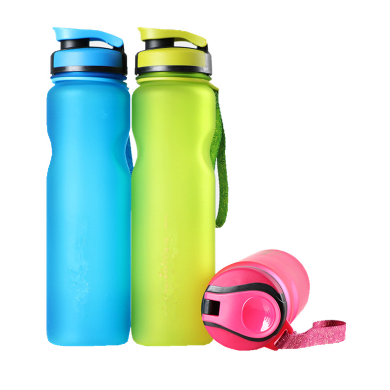 1L BPA Free Eco-Friendly Plastic Drinkware Water Bottles  FROSTED Space  Outdoor Sport my Water Bottle bap free