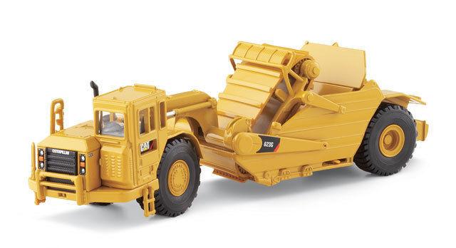 Norscot Caterpillar 623G Wheel Tractor Scraper 1:50 scale NEW 55097 Construction vehicles toy 1pcs new c7 623 6es7623 1ae01 0ae3 6es7 623 1ae01 0ae3 gea c7 623 6es7623 1sb01 0ac0 6es7 623 1sb01 0ac0 membrane keypad