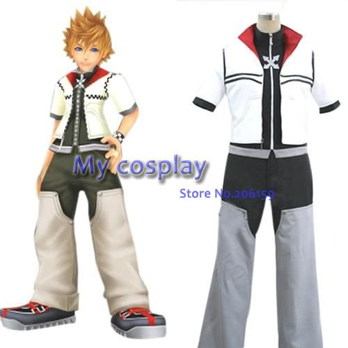 【<b>Аниме</b> Kingdom Hearts 2 Рохас Карнавальный костюм для ...