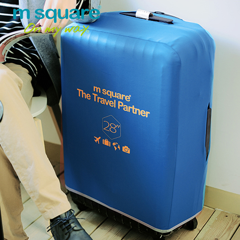 M Square Travel  Luggage Cover Protective Suitcase Cover Protector Trolley Case Spandex Suitcase Protective Cover