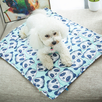 Cold Dog Mat Cool Summer Mattress Cozy Dogs Mats Pet Beds Cats Puppy Space Matelas Pour Chien Cages Cachorro Pets Supply 50Z1504