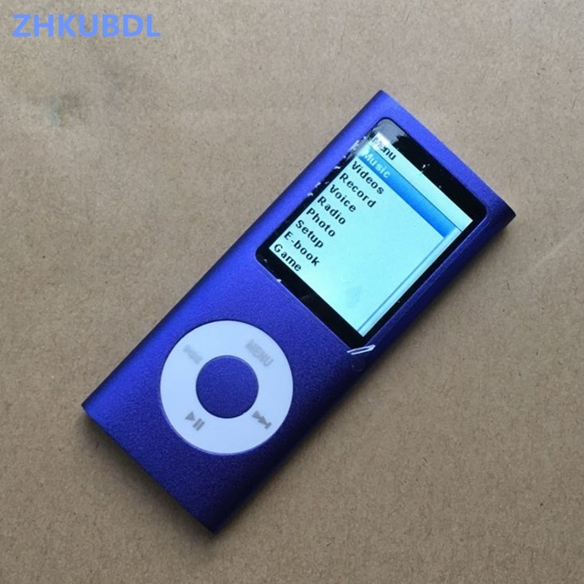 ZHKUBDL 4th gen mp3 player 16GB 32GB Music playing time 30 hours with fm radio video E-book player mp3 with built-in memory