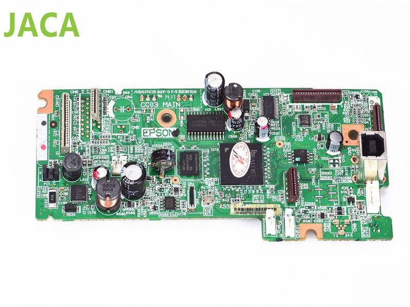 Best quality Original L555 Mainboard Mother Board Main Board For Epson L555 Printer Formatter BoardL100 L210 L220 L800 L455 L565 original new print head for epson l120 l210 l220 l300 l335 l350 l355 l365 l381 l455 l550 l555 l551 xp300 xp400 xp405 printhead