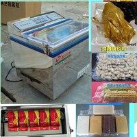 Бесплатная доставка sautomatic Коммерческий Вакуум запайки для химической товары оборудования, электронных зерна грибов колбасы рыбы