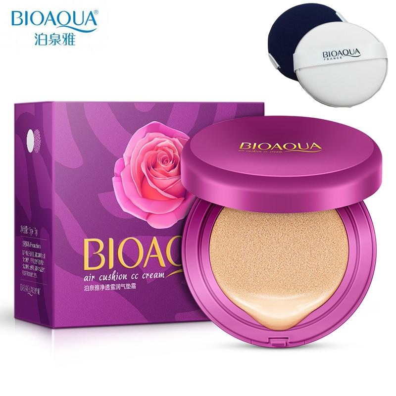 BIOAQUA Air Cushion BB Cream Concealer Moisturizing Foundation Makeup Korean Cosmetics Whitening Face Beauty Makeup