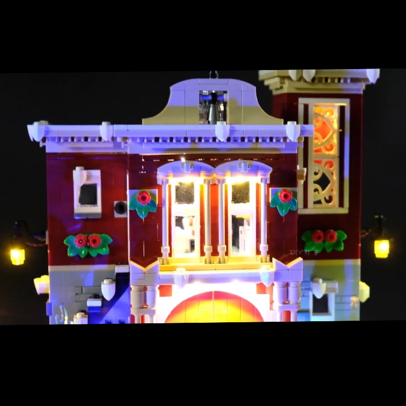 Led-Light-For-Lego-10263-Creator-Winter-Village-Fire-Station-Compatible-36014-Building-Blocks-Toys-Gifts