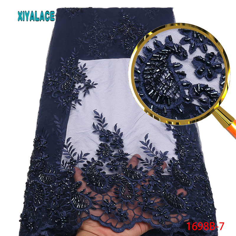 3d Lace Fabric Teal African French Lace Fabric High Quality Handmade Embroidery Wedding Nigerian Lace Fabric