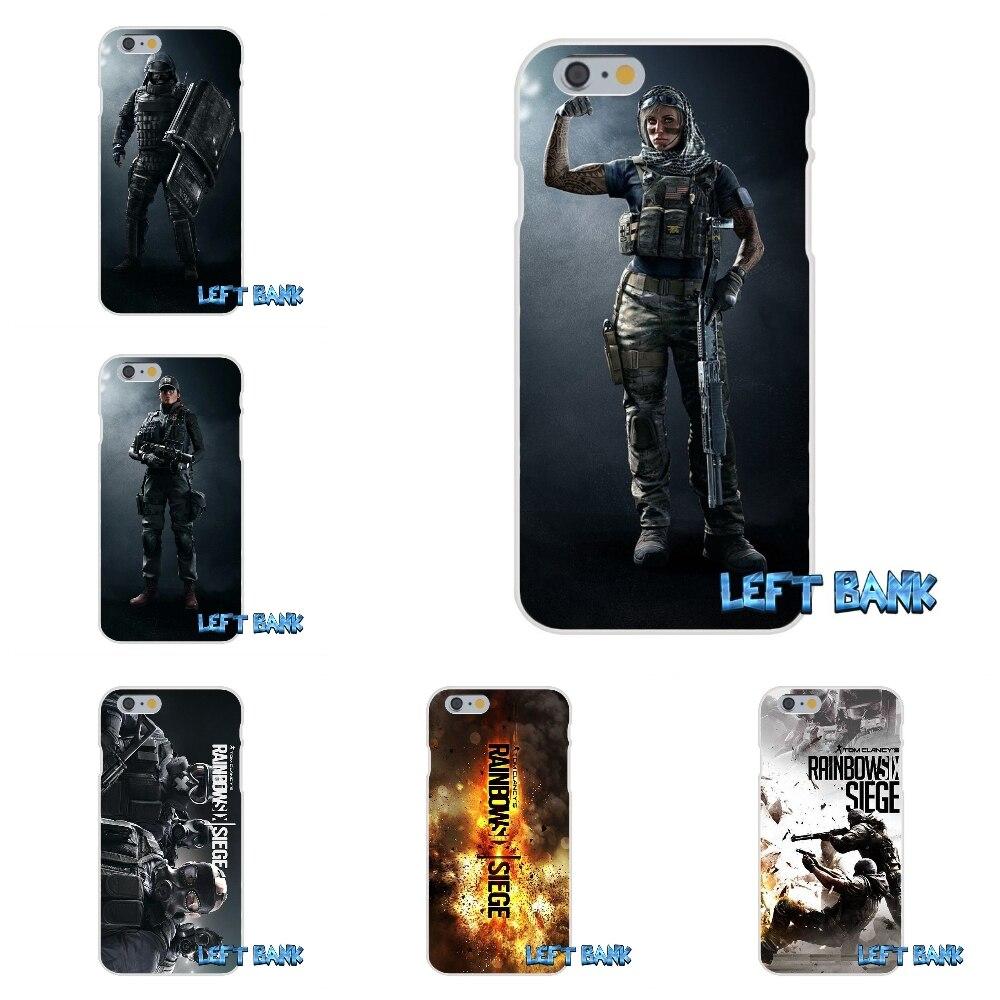 Rainbow six siege characters silicon soft phone case for - Rainbow six siege phone ...
