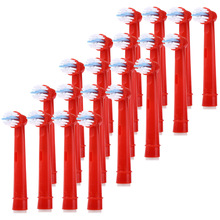 EB-10A 20Pcs Replacement Brush Heads Durable To Use And Easy To Replace Appropriate For Kids Soft Bristle Beauty Tooth Tool