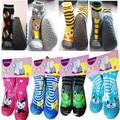 Meias Com Sola De Borracha do bebê Aprendendo A Andar Do Bebê Do Algodão meias Recém-nascidos Anti Deslizamento Da Criança Interior Sapatos Piso Meias Infantis Ws925