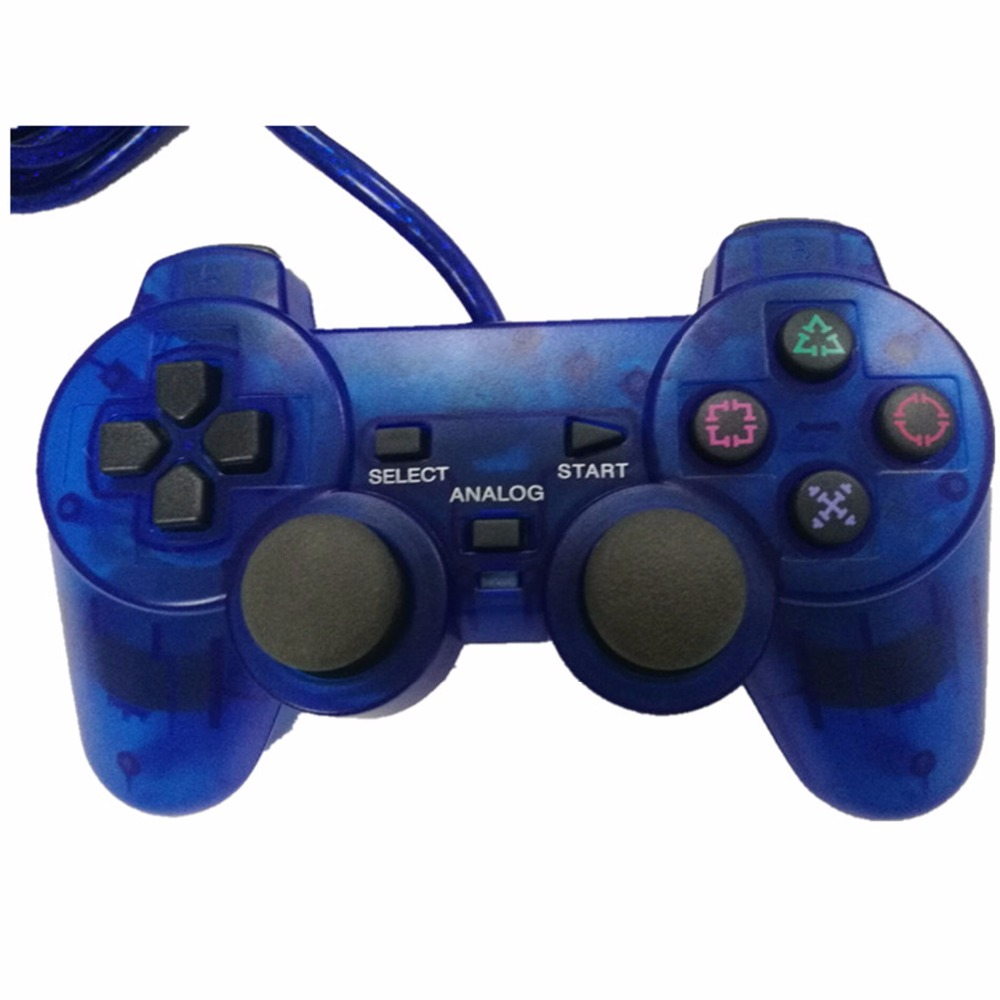 Wired Game Controller for Sony PS2 Playstation 2 Joypad ...