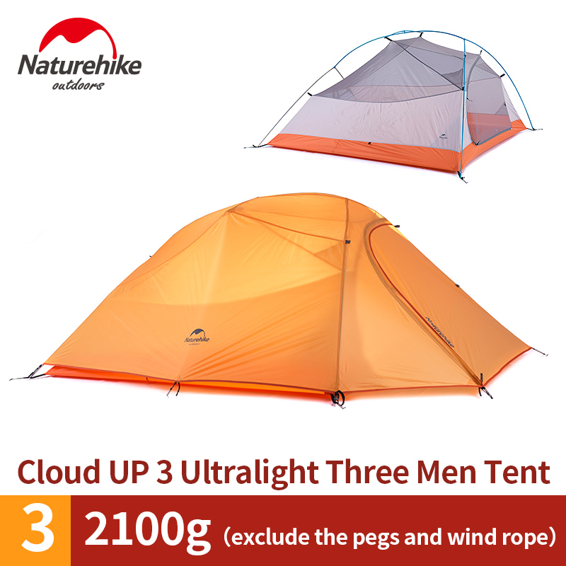 Naturehike Outdoor Travel C&ing Tent Ultralight 3 4 Person Four Season Tent Double Layer Waterproof Shelter C&ing Equipment-in Tents from Sports ...  sc 1 st  AliExpress.com & Naturehike Outdoor Travel Camping Tent Ultralight 3 4 Person Four ...