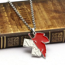 Evangelion Maple Leaf Necklace