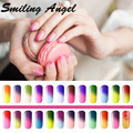 Smiling Angel 1pcs Nail Gel Thermo Varnish Temperature Change Nail Mood Color UV Polish 10ml Gel For Nail Soak Off Gel Polish