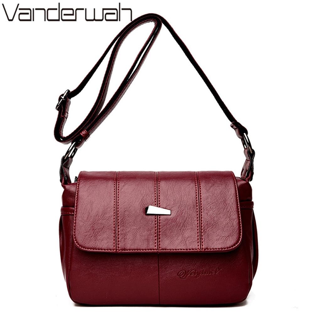 NEW Flap Bags Handbags women famous brands high quality PU Leather shoulder bags fashion crossbody bag women messenger bag sac