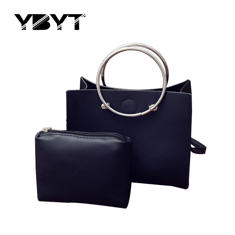 YBYT brand 2017 new fashion tote composite women evening handbags hotsale casual ladies clutch shoulder messenger crossbody bags
