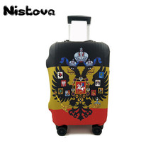 Fashion Colorful Trolley Suitcase Elastic Dust Bags Luggage Protective Cover   For 18 to 30 inch Case Travel Accessories