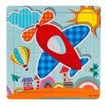 Высокое Качество Деревянных Детей 16 ШТ. Jigsaw Игрушки Для Детей Образование И Обучение Головоломки Игрушки Бесплатная Доставка