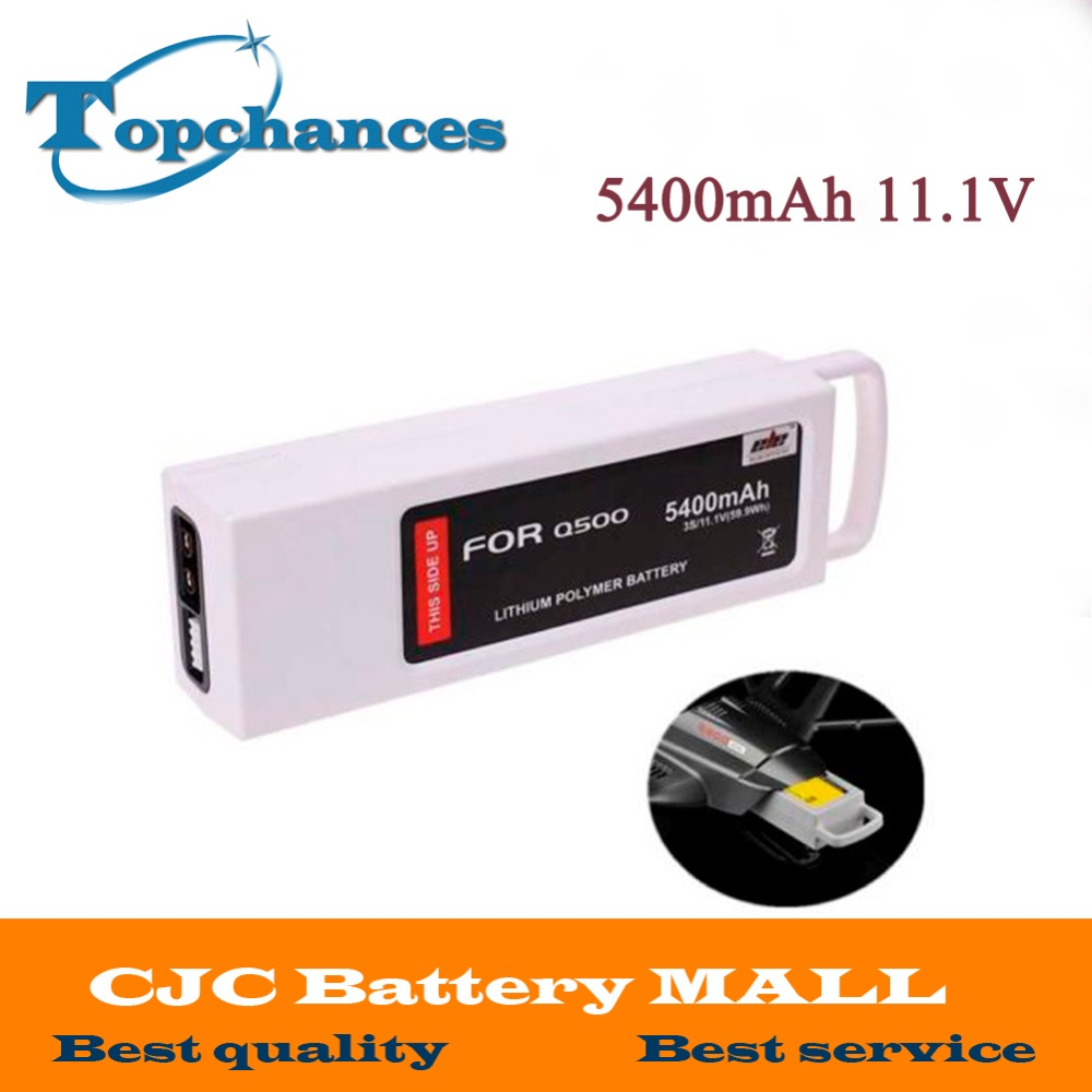 5400mAh 11 1 Volt Lipo Battery For Yuneec Q500 Series RC Drone 11 1V 3S 3Cell
