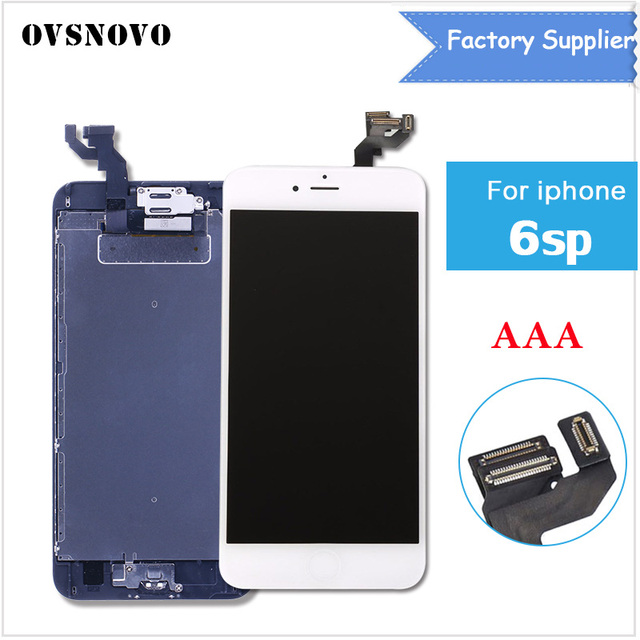 info for 26042 30ba8 US $41.88 |5.5 inch Full Assembly LCD Screen For A1634 A1687 iPhone 6S Plus  Replacement Pantalla Digitizer+Home Button+Front Camera-in Mobile Phone ...
