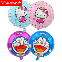 VIPOINT PARTY 18inch Cats Foil Balloons 10 Pieces Wedding Event Christmas Halloween Festival Birthday Party HY-167