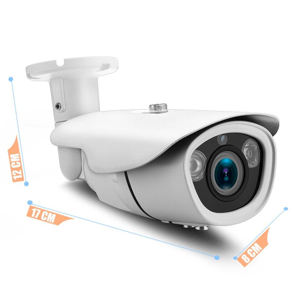 SUCAM 2.8-12mm Varifocal ONVIF IP Camera 2.0MP 4.0MP Waterproof Home Security Video Surveillance CCTV Camera 2Pcs Array IR Leds 1