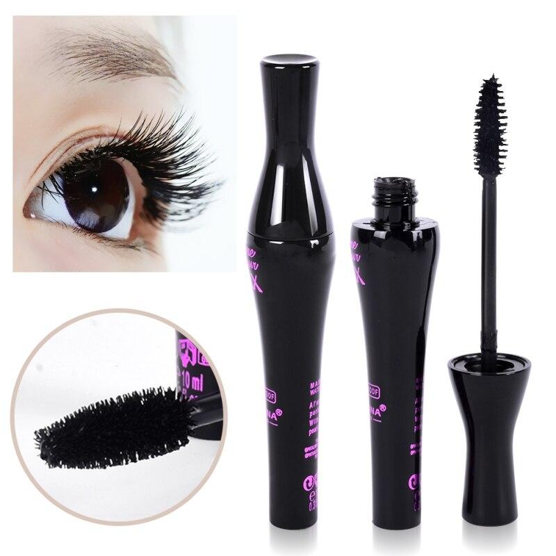 1pc Hot sale Colorful Mascara black Color Volume Lengthening Curling Cosplay Eyelashes Makeup Fiber Waterproof Cosmetic