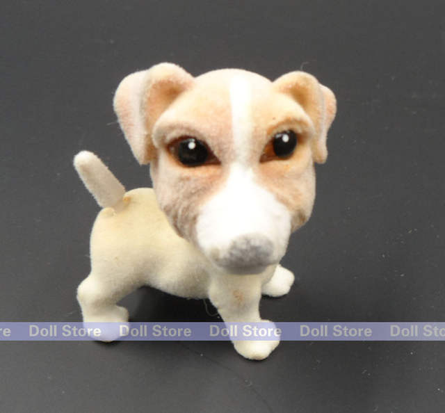 Online Shop 3 4cm 2015 Villus Pugdachshund Dog Animal Action Figure