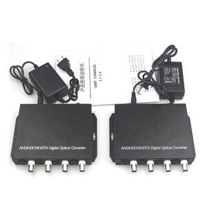 Image 4 - 1080 P HD CVI AHD TVI 4 Kanaals Video Fiber Optische Media Converters met RS485 Data Voor 1080 p 960 p 720 p AHD CVI TVI HD CCTV