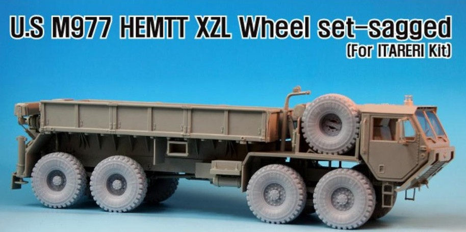 US $19 7 |1/35 Scale m977 heavy expanded mobility tactical truck  tires*9resin Models Kit Free Shipping-in Model Building Kits from Toys &  Hobbies on