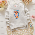 4pcs high quality 2016 Summer Style Cartoon owl long Sleeve T Shirt Tees Clothes for Boy girl Children t shirts