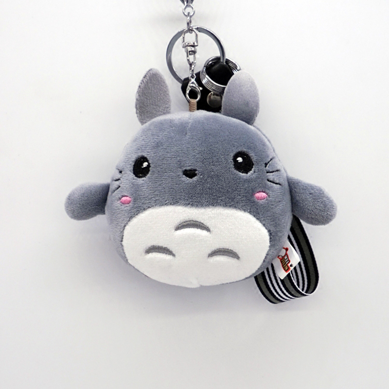My Eighbor Totoron Japanese Cartoon Doll Plush Charm Llavero Keychain Stuffed Gift Kids Toy Car KeyRing Holder Key Chain Pendant