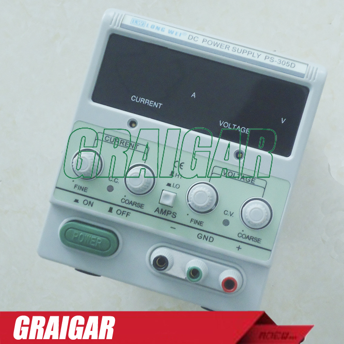 PS-305D digital display DC power supply Adjustable DC Power Supply For Lab 30V 5A