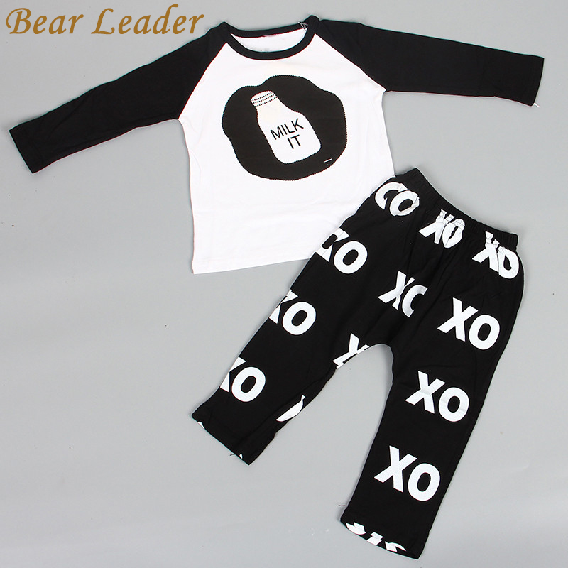e180fc383 Bear Leader 2018 Hot Spring Baby Clothing Sets Boys Girls Kids Brand Sport  Suit Tracksuits 2pcs