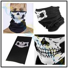 1pcs Halloween half face mask cap horror party skull skeleton festival outdoor motorcycle bicycle ski windproof scarf Bib